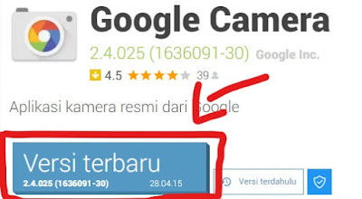 Download Aplikasi Google Camera (GCAM) Tanpa Root