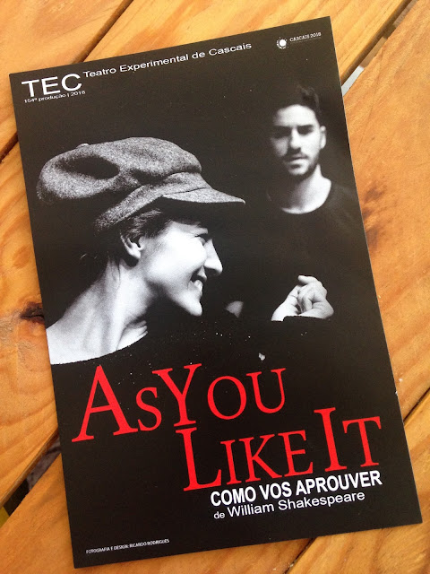 "Peça de teatro ""As you like it"""