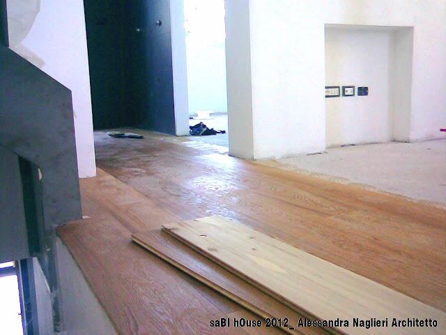 pavimento in legno rovere oak woodfloor