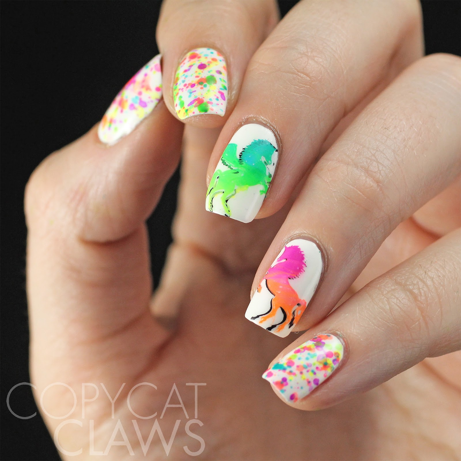 Copycat Claws: The Digit-al Dozen does Whimsy/40 Great Nail Art ...