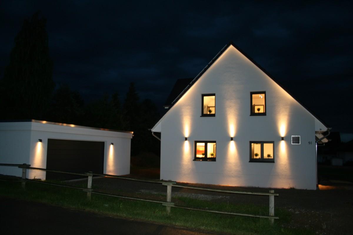 mein baublog illumination 3 au enbeleuchtung. Black Bedroom Furniture Sets. Home Design Ideas