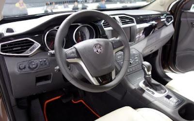 2016 MG GS 1.5 TDI Interior