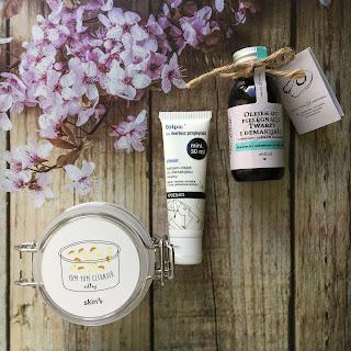 3 produkty, to mini recenzje, dziś oczyszczanie twarzy od Make Me Bio, Skin79 oraz Tołpy.