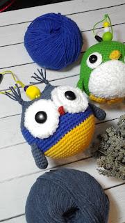 Птички вязаные крючком ВКонтакте