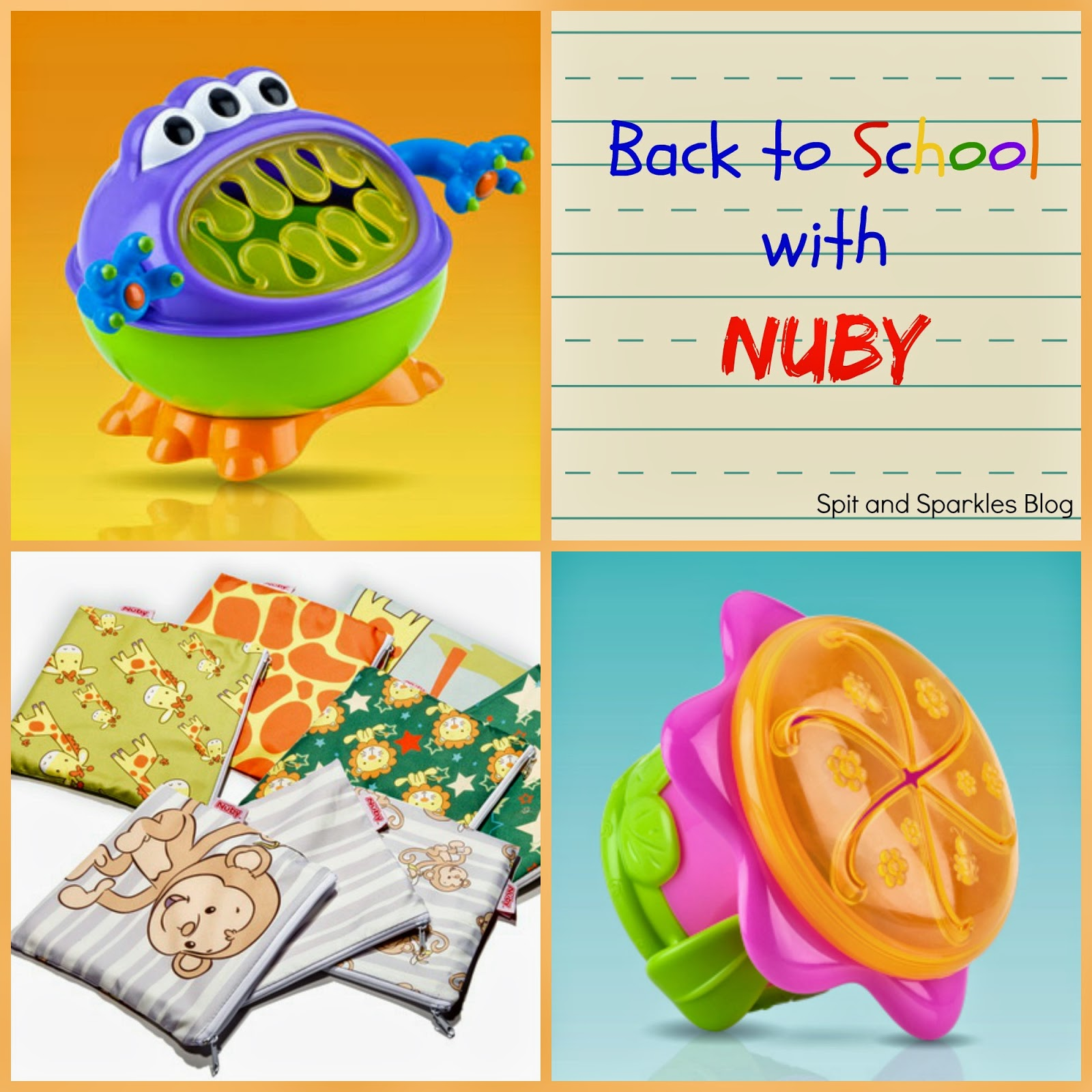 Back to school essentials from Nuby! #snacks #school #toddlers #Nuby