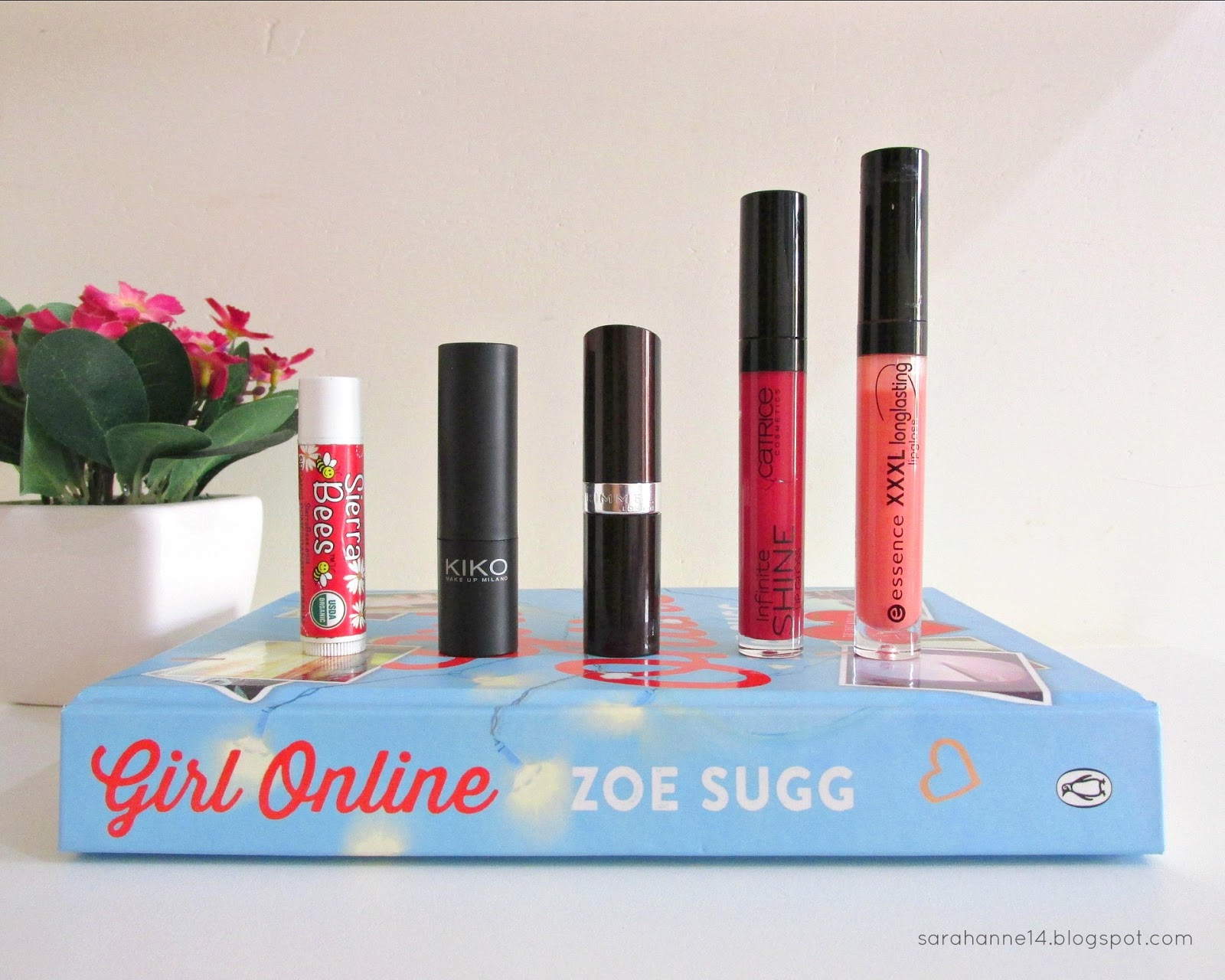 top 5 lip products, lipstick, lipgloss, Sarahanne14, top 5 lipsticks