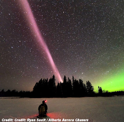 Eerie Sky Glow 'Completely Unknown' to Science