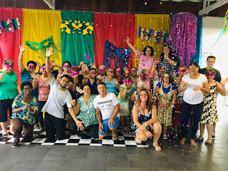 Centro de Convivência dos Idosos de Miracatu realiza Carnaval da Melhor Idade
