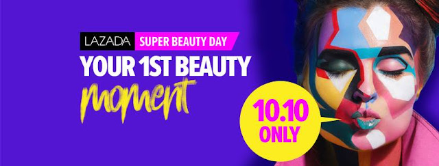 Lazada's Super Beauty Day, your first beauty moment!