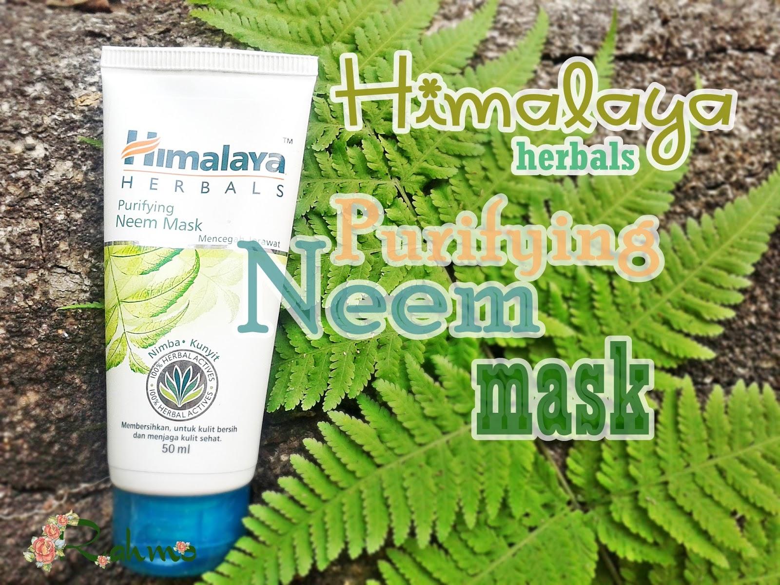 Himalaya Herbals Purifying Neem Mask Review Rahma Brilianita
