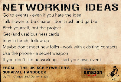 networking for writers