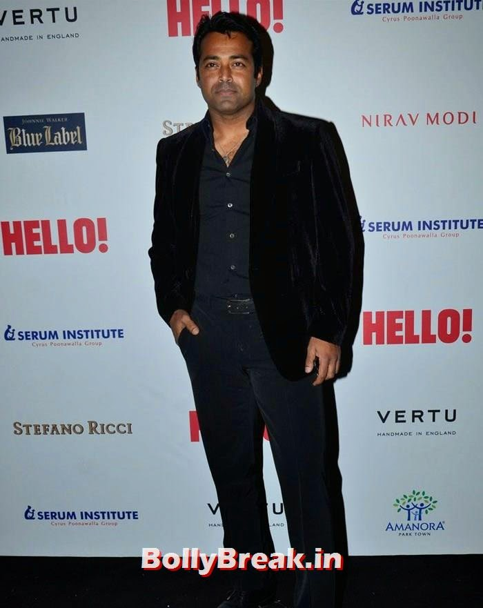 Leander Paes, Hello! Hall of Fame Awards 2014