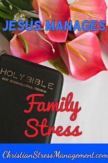 Jesus manages family stress