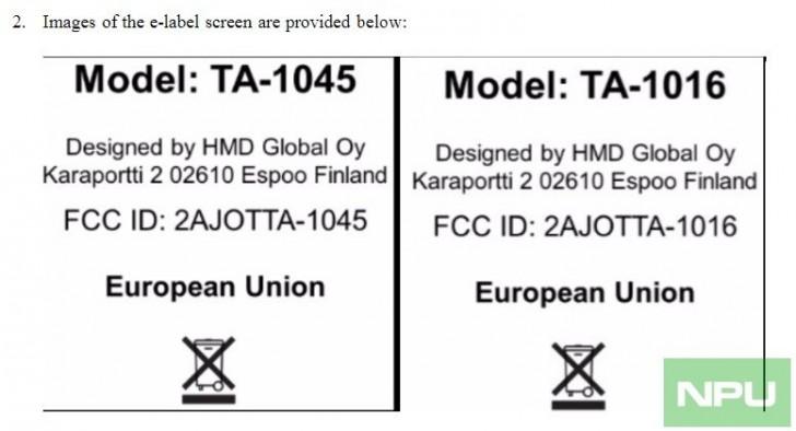 Nokia model number