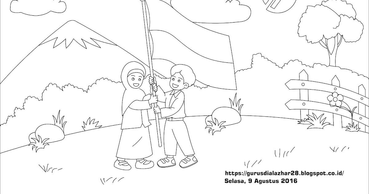 Sketsa Lomba Mewarnai 17 Agustus Di Magetan