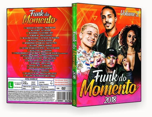 CAPA DVD – Funk Do Momento Vol.2 – ISO