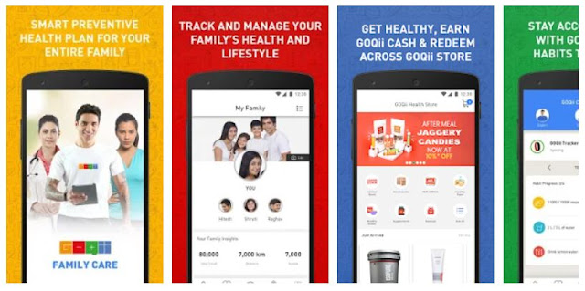 Download & Install GOQii - Smart Preventive Healthcare Mobile App
