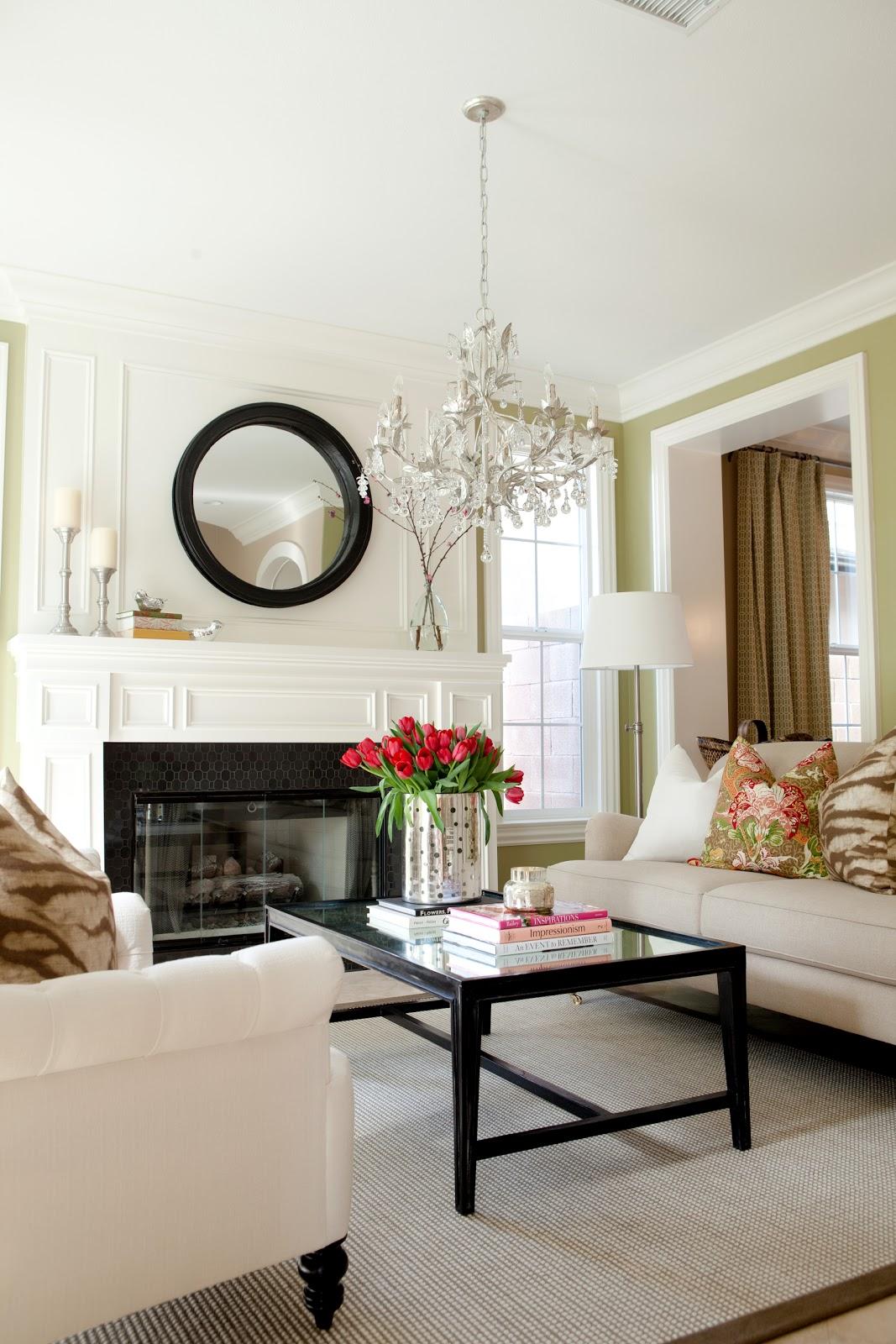 lovely living room desk | BDG Style: LOVELY LIVING ROOM
