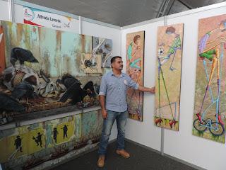 Alfredo Laverde artistas Colombianos