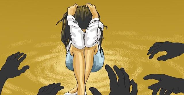Wanita Bugil Dibuang Pemerkosa ke Dalam Angkot di Cianjur