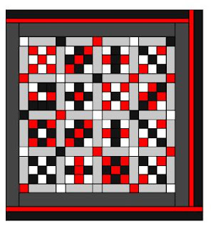 How to make a Square Quilt with ONLY Square's, Part 3