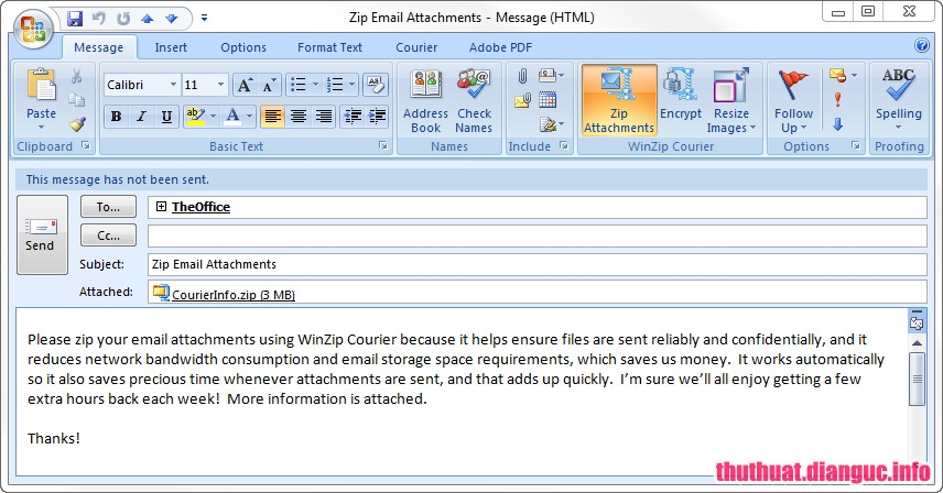 Download WinZip Courier 9.0 Full Cr@ck