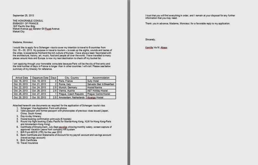 Top 10 Punto Medio Noticias | Covering Letter Format For Applying Visa