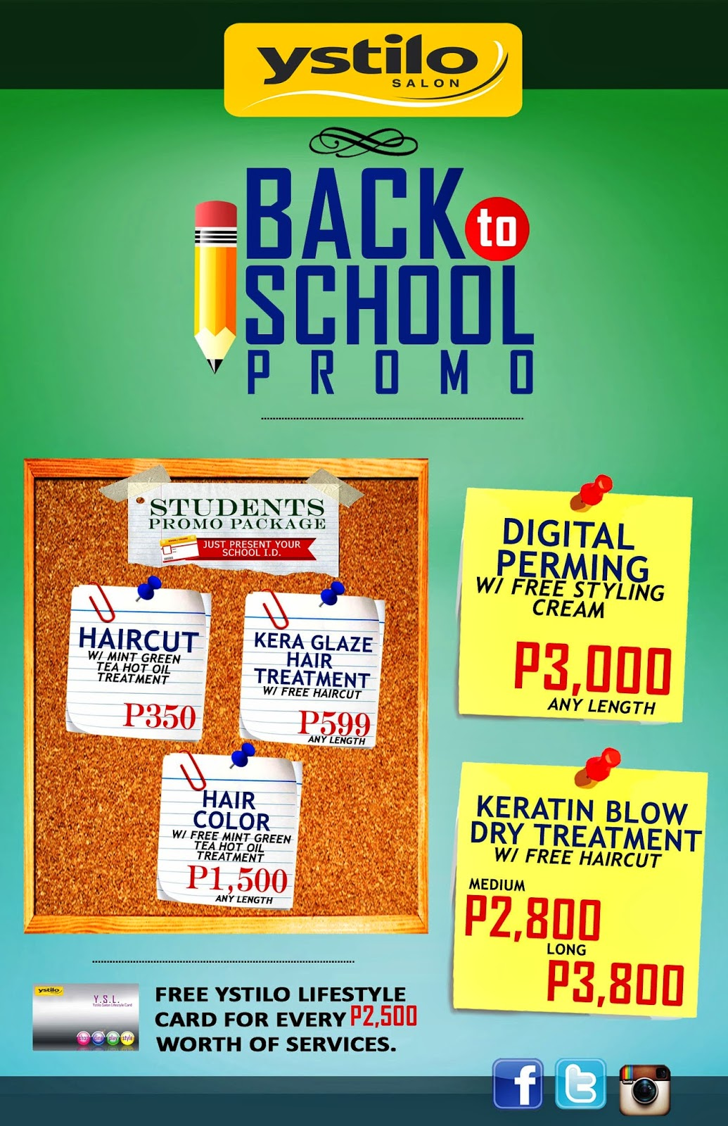 """amazing jing for life: ystilo's """"back to school"""" promo is extended"""