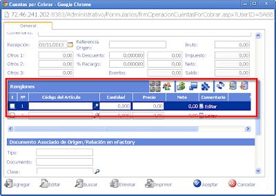 eFactory Software ERP/CRM en la Nube o cloud para Latinoamerica