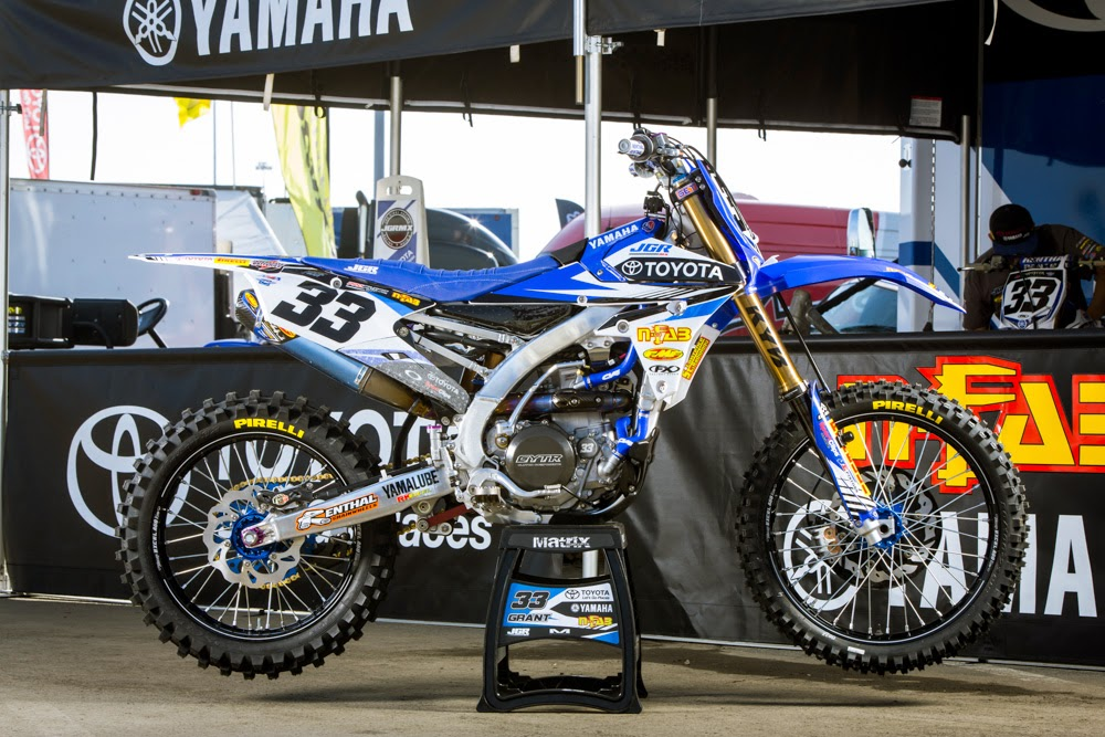 Racing Caf 232 Yamaha Yz 450f Team Jgrmx Toyota Supercross