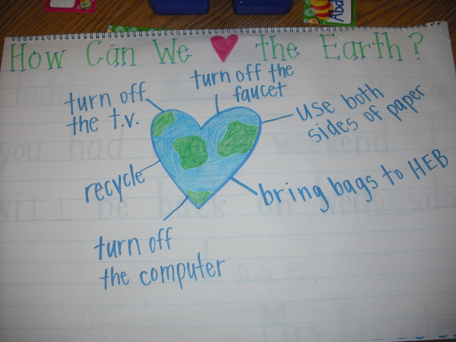 Sprinkles To Kindergarten Earth Day Hooray