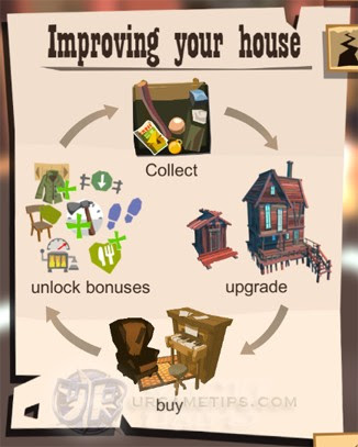 The Trail: upgrade your House to Lvl 4
