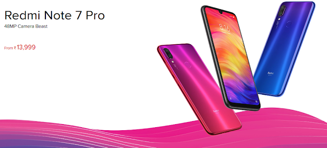 XIAOMI REDMI NOTE 7 PRO 48-MP CAMERA LAUNCHED IN INDIA: SPECIFICATIONS,PRICE