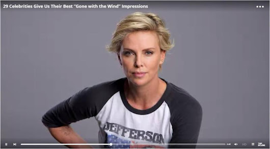 Charlize Theron in Jefferson Airplane Raglan
