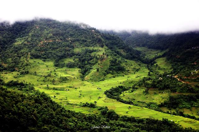 Khonoma Village Green Village in Nagaland Terrace Fields
