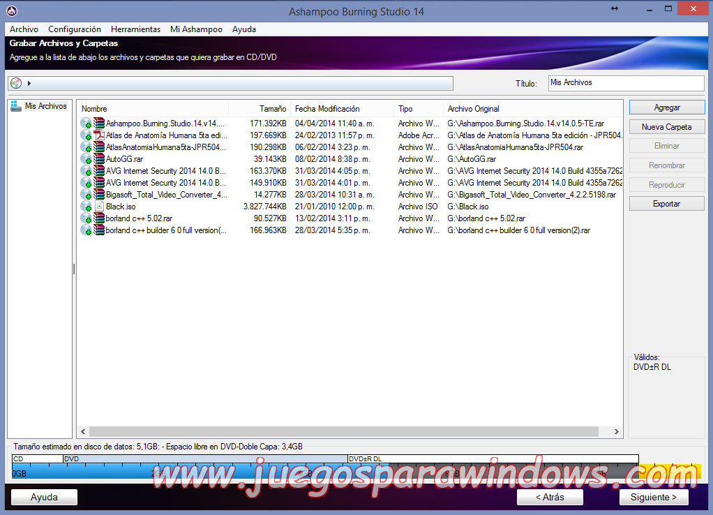 Ashampoo Burning Studio v14.0.5.10 Full PC ESPAÑOL 7