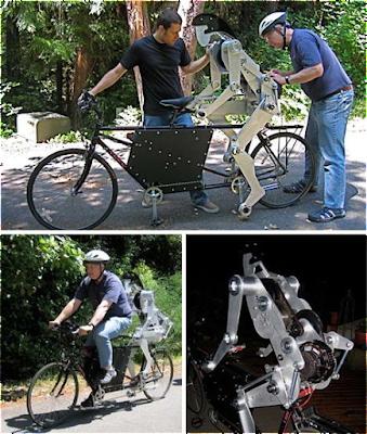 Robot Sepeda Untuk Mengayuh Sepeda