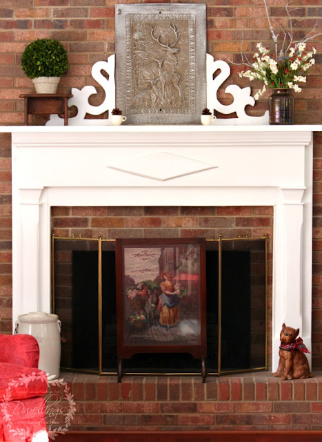 Sprucing Up Something New for the Mantel | DWELLINGS-The ...