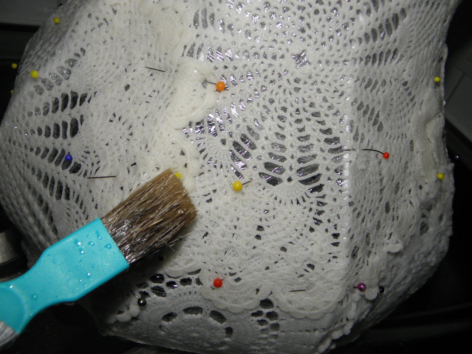 ihan kiva söpö AliExpress Sinipellavainen: Pitsiliinoista lampunvarjostin