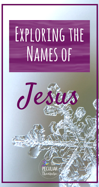 The names of Jesus have depth and meaning, and have significant impact at Christmas and all the time.