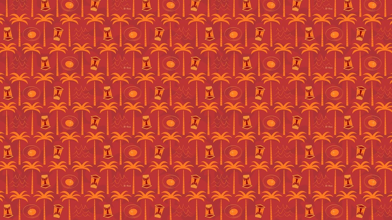 Tacoma Tiki Pattern