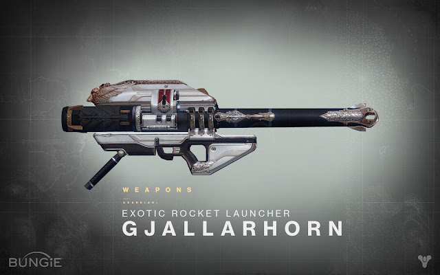 gjallarhorn rocket launcher destiny