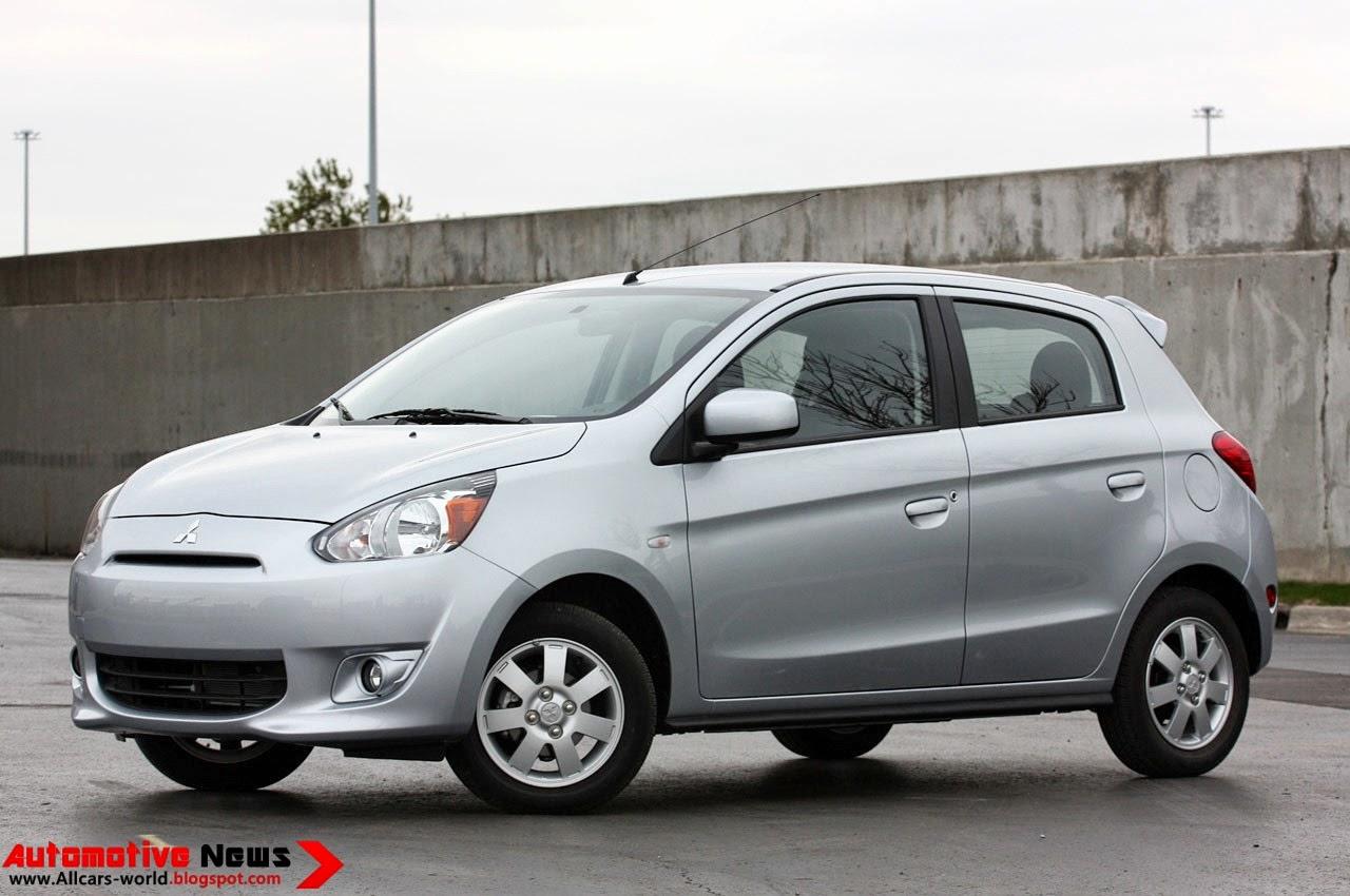Automotive News: 2014 Mitsubishi Mirage