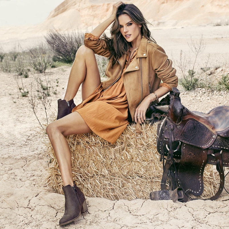 Alessandra Ambrosio stars in XTI Shoes Fall/Winter 2018 campaign