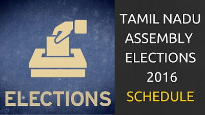 TN Assembly Election 2016 Schedule