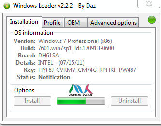 The most effective method to activate Microsoft Window 7/8 1