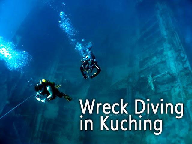 Wreck Diving in Kuching Sarawak