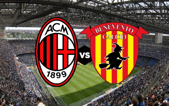 AC Milan vs Benevento Full Match And Highlights