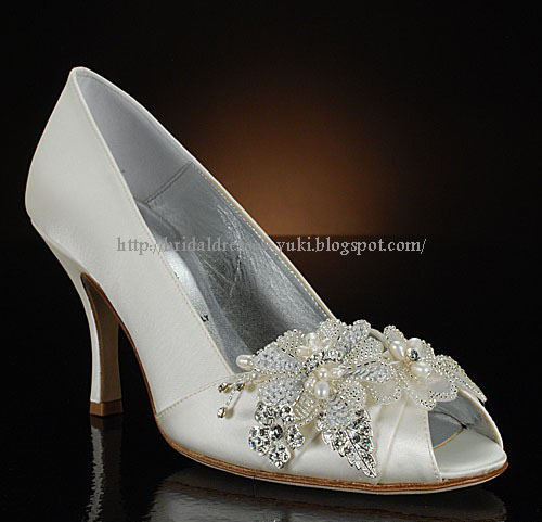 Something Bleu High Alude Wedding Shoes