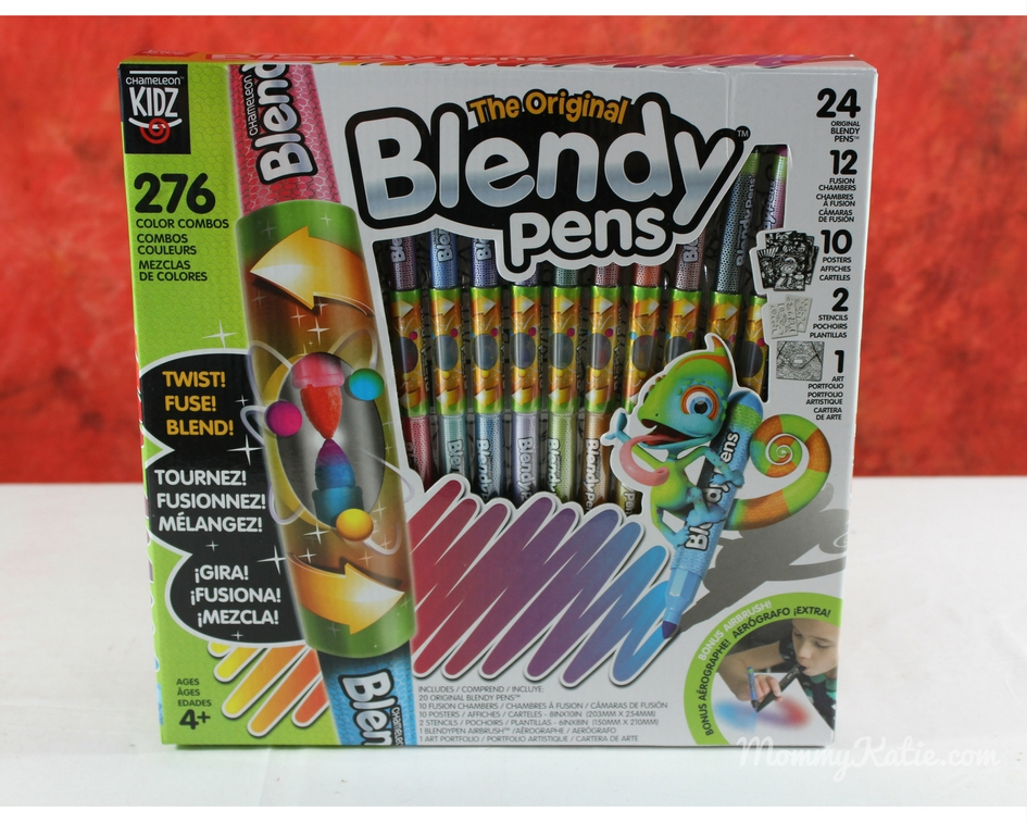 Giveaway Holiday Guide: Blendy Pens from Chameleon Kidz | Mommy Katie